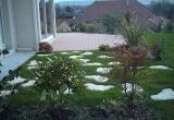 Création d'une terrasse et amenagement