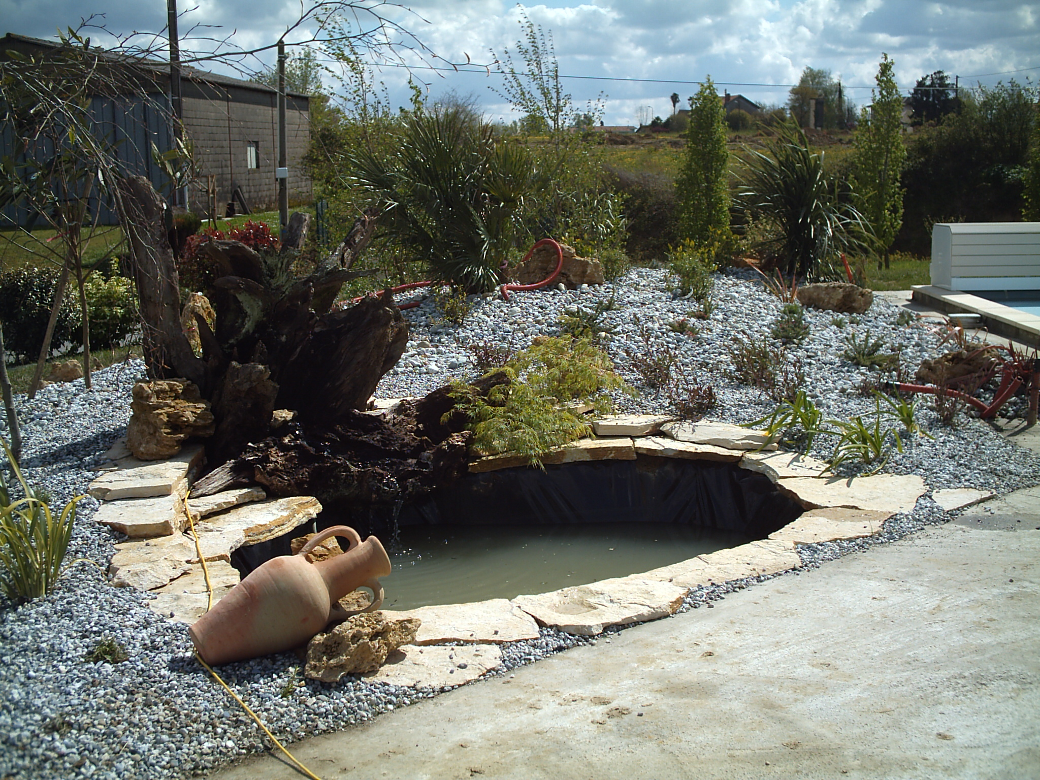 Création de bassin